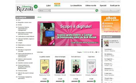 libreria rizzoli ebook ebook in italiano dove acquistarli e come leggerli