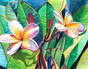 Hawaiian Flowers For Sale - plumeria garden by marionette taboniar