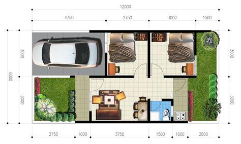 denah rumah minimalis type 36 yang ideal