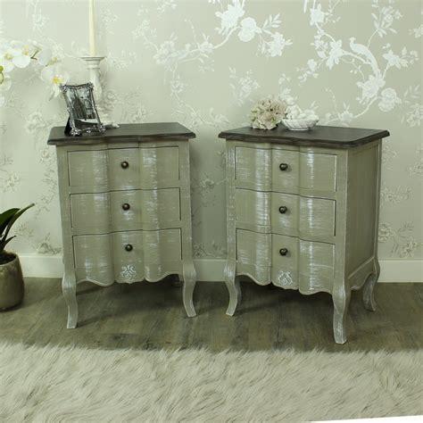 grey vintage bedroom furniture furniture bundle pair grey bedside chests shabby vintage