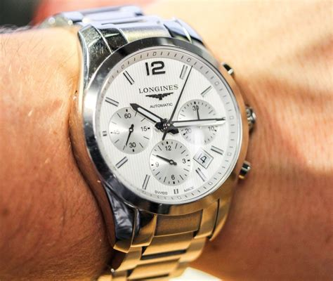 longines conquest classic chronograph review