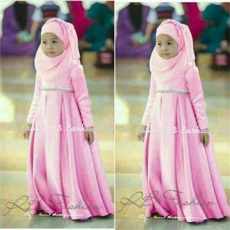 Baju Gamis Untuk Anak Kecil jual dress anak perempuan gamis kecil tosca set bismillah defashop