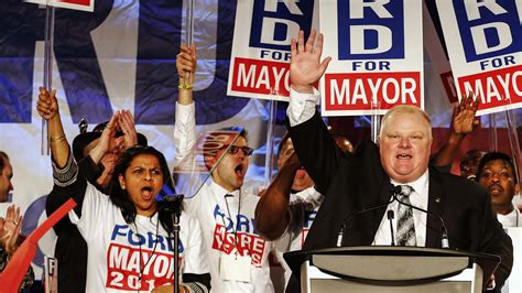 toronto mayor ford rob ford a former chief of staff on letting his go