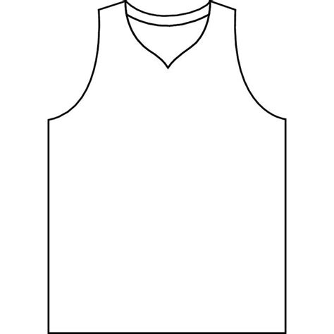 Basketball Jersey Template Printable Google Search Table Cool Shirt Coloring Pages