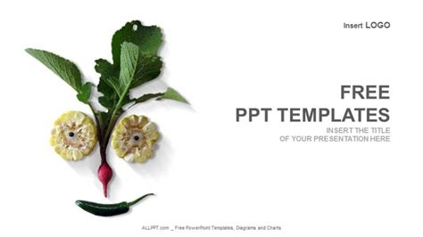 Organic Vegetables Food Powerpoint Templates Food Powerpoint Templates Free