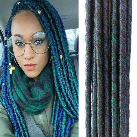 synthetic short africandreadlock synthetic extensions dreads prices of remy hair