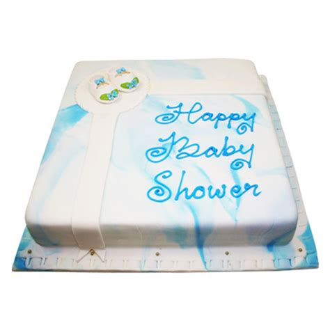 Baby Shower Square Cakes by Baby Shower Square Cake Just Cakes
