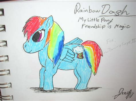 doodle dash rainbow dash doodle by missluckychan29 on deviantart