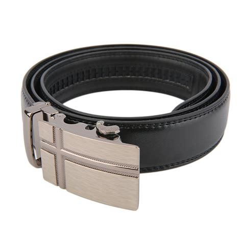 classical automatic belt buckle genuine leather belts mens