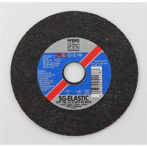 Cutting Disc 4 100 X 08 Mm American Tools pferd eht10510a60rsginox cutting disc 4 quot 1mm x a60 s steel high grade hardware store in