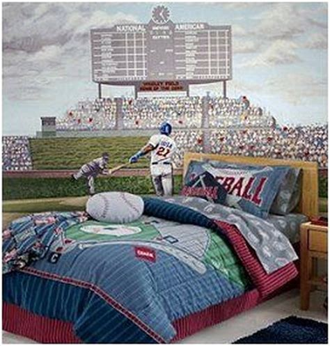 sports murals for bedrooms best 20 baseball theme bedrooms ideas on pinterest