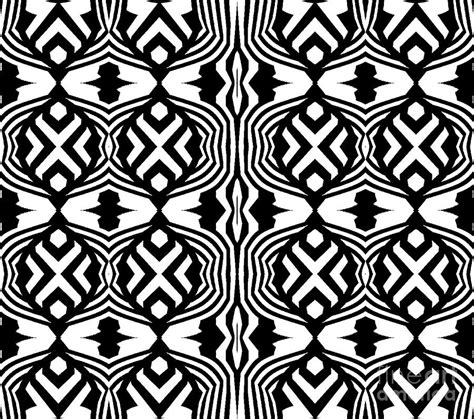 pattern artist black and white pattern black white art no 304 digital art by drinka mercep