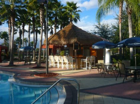 Hotel Tiki Bar Solana Resort Davenport Orlando Florida Usa