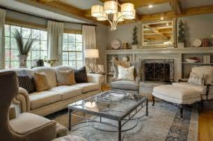 Traditional Living Room by Mccroskey Interiors Traditional Living Room Kansas
