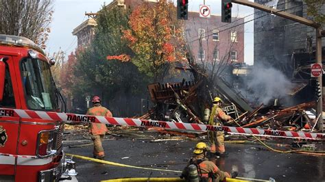 Trucker Major Lazer Bighel Shop 1 explosion reported after gas leak in nw portland smoke plumes seen for ktvl