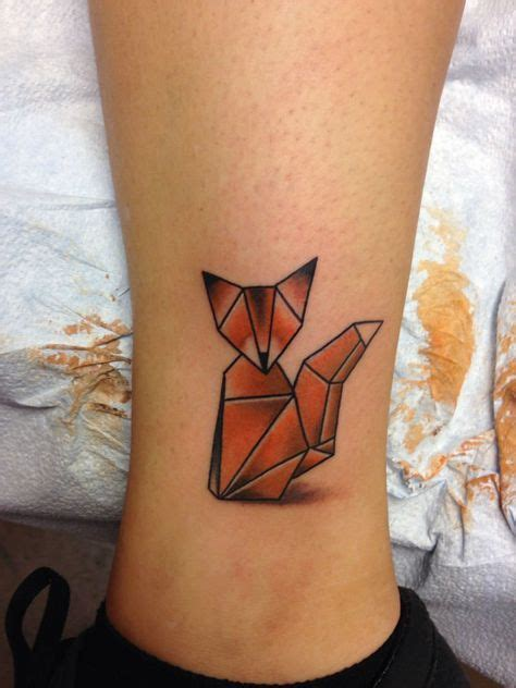 tattoo animal origami 17 best ideas about origami tattoo on pinterest