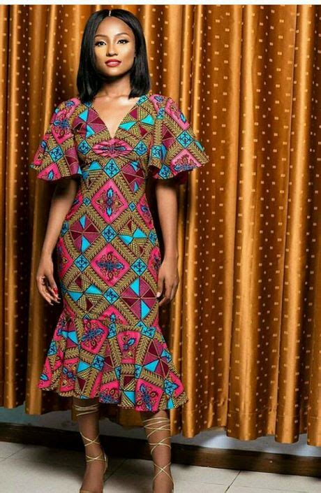 Simple Ankara Gown Styles 2019