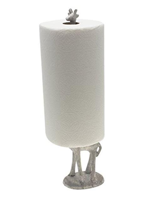 decorative bathroom paper towel holder paper towel holder or free standing toilet paper holder cast iron giraffe paper holder