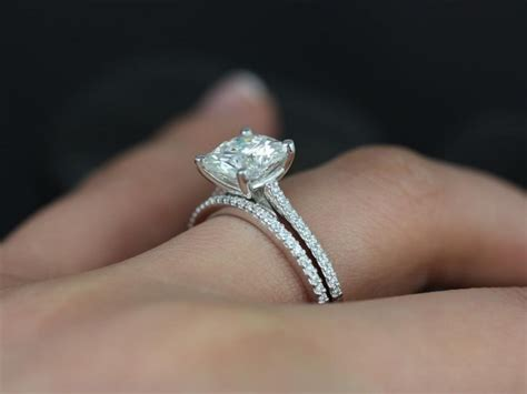 Moissanite Rings by Things You Should Before Buying Moissanite Engagement