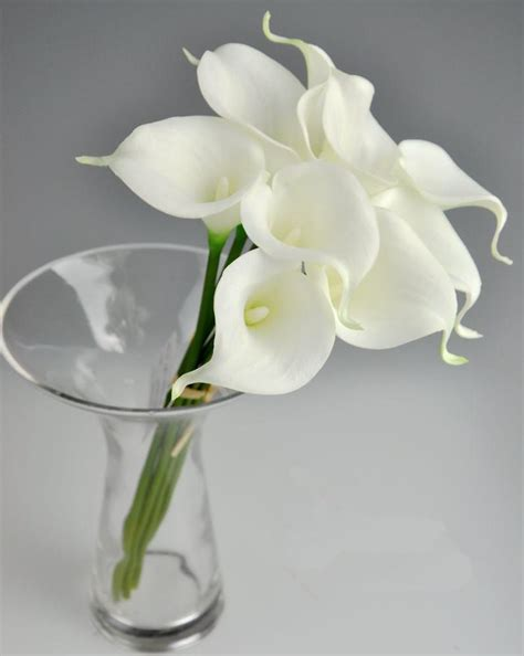 lilies or lillies latex callas 35cm elegant silicon artificial egyptian