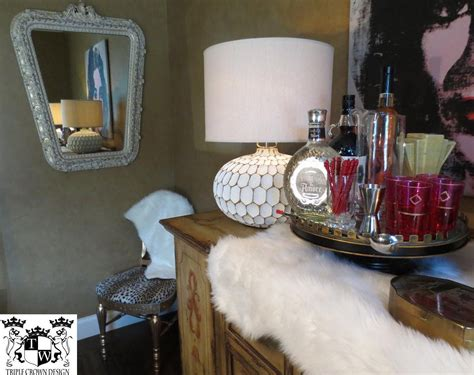 mirror  chair adds   eclectic vibe