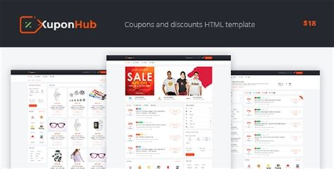 themeforest coupon theme kuponhub v1 0 affiliate coupons and discounts wp theme