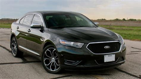 2013 Ford Taurus Hp by Hennessey Unleashes 445 Hp Ford Taurus Sho W