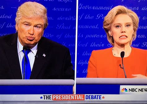 donald trump snl watch snl donald trump hillary clinton debate video