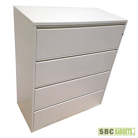 4 Lateral Legal Letter Steel File Cabinet Tan