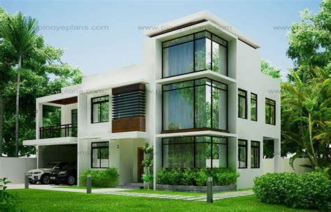 house design in modern modern house design 2012002 pinoy eplans