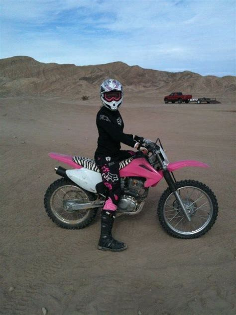 pink motocross bike i my pink dirt bike my husband surprised me for