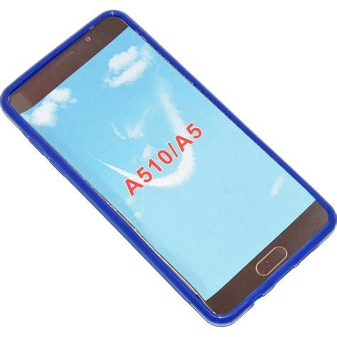Back Cover Samsung A510 A5 2016 Blue Original 905422 Ssyl Custodia Tpu Silicone Cover Per Samsung Galaxy