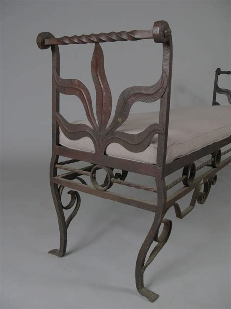 antique iron bench antique 1920s wrought iron bench at 1stdibs