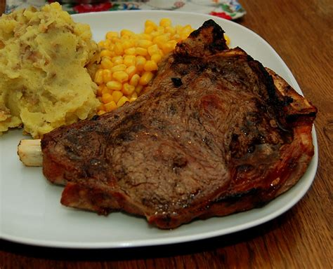 best t bone steak on a oven oven grilled t bone steak flickr photo