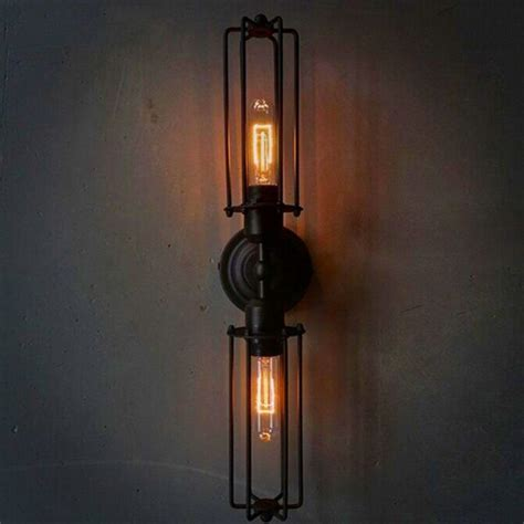 vertical fixtures or sconces mounted on either side of the 30 industrial style lighting fixtures to help you achieve