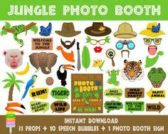 instant download animal print photo booth props safari animal print photo booth props google search wild