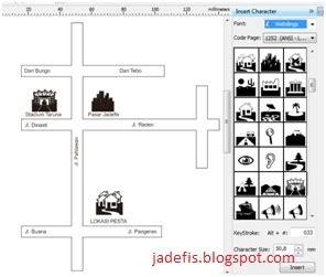 membuat denah lokasi undangan dengan corel draw cara membuat denah lokasi pesta sederhana jadefis