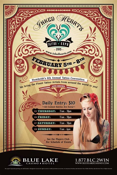 tattoo convention tickets 2015 inked hearts tattoo expo tickets in blue lake ca
