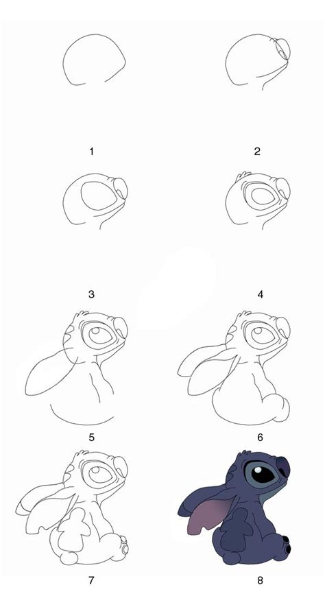 Sketches Step By Step by Draw Stitch Step By Step By Grayalien Drawing