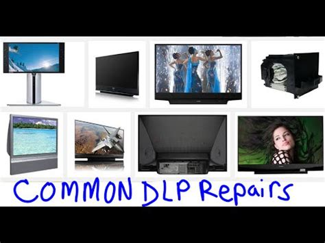 most common easy fixes dlp tvs no power no picture