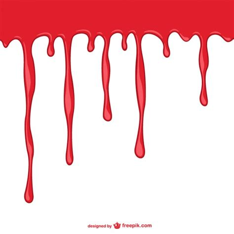 blood template bleeding background template vector free