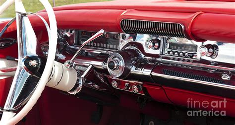 Impala 2014 Interior 1958 Buick Special Dashboard Photograph By Tim Gainey