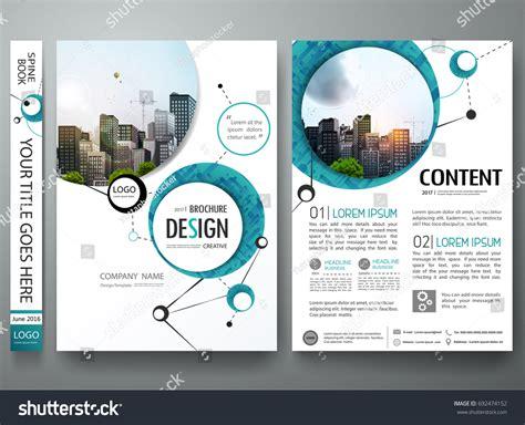 quot green abstract shape poster portfolio layout design city portfolio design template vector minimal brochure stock
