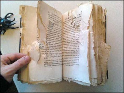 damaged books damaged book 09 and more damage larry wentzel flickr