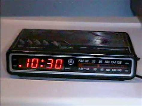 1993 ge digitial clock radio