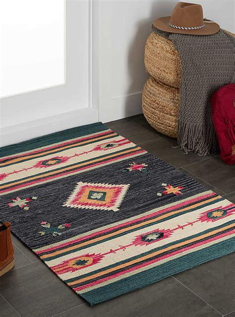 colourful rugs colourful kilim rug 90 x 130 cm simons maison
