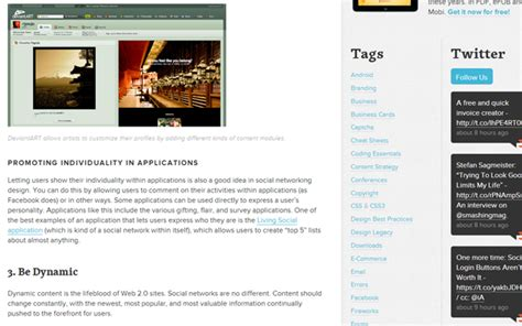 web layout design best practices 28 articles on usability and user experience techniques