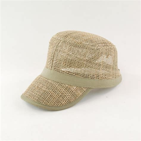 captale cool summer straw hat and baseball cap hat