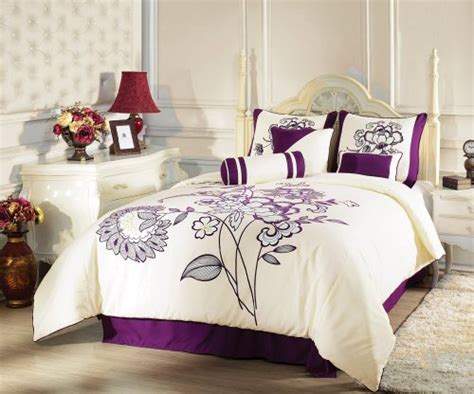 beige and purple bedroom bedding collections discount