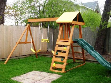 wooden backyard playsets backyard playsets plans